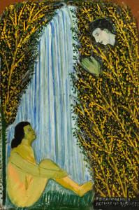 A bather, 2000