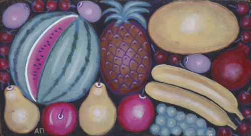 Still life with fruit, 1990s