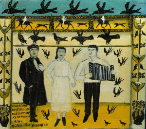 Feodor Chaliapin and Lidia Ruslanova perform folk songs, 2001
